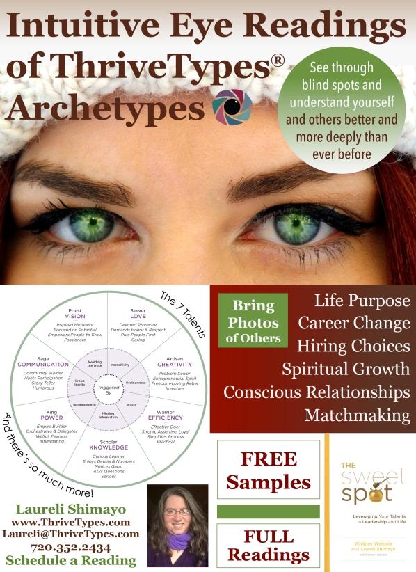 Eye Readings Cosmic Awareness Fair Jan 2019